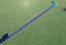 Un panel solar gigante, desplegable y listo para su uso en minutos